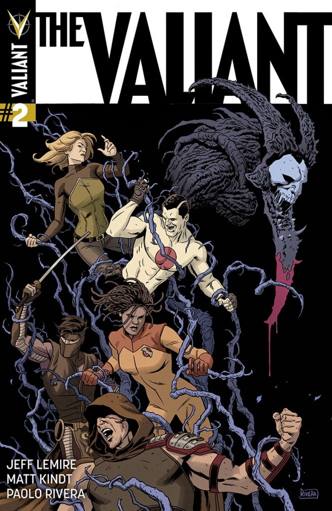 The Valiant #2 Cover