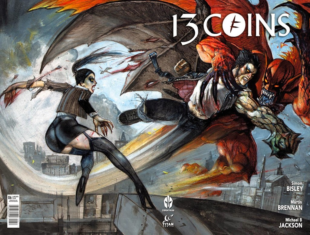 13 Coins #6 Cover