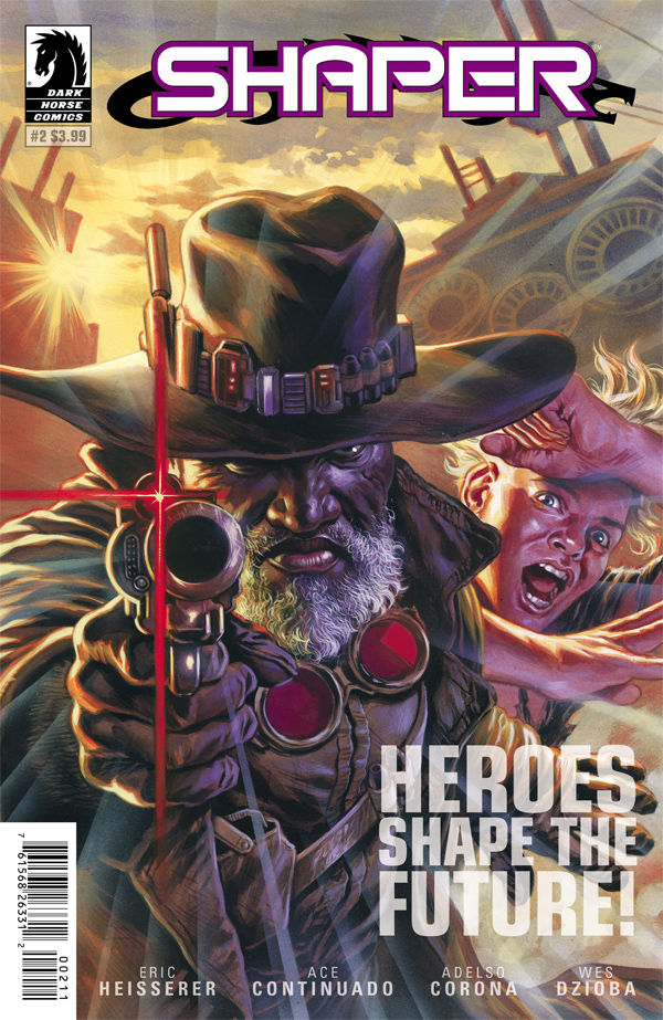Shaper2 Cover Dark Horse Comics Eric Heisserer Ace Coninuado Wes Dzioba Adelso Corona