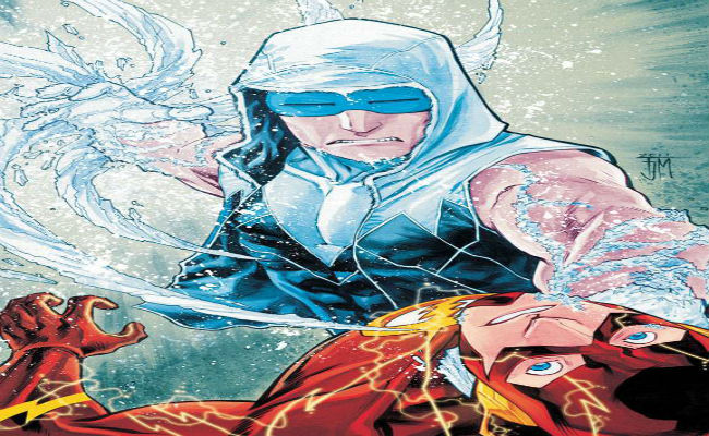 Captain Cold versus The Flash from The Flash #6