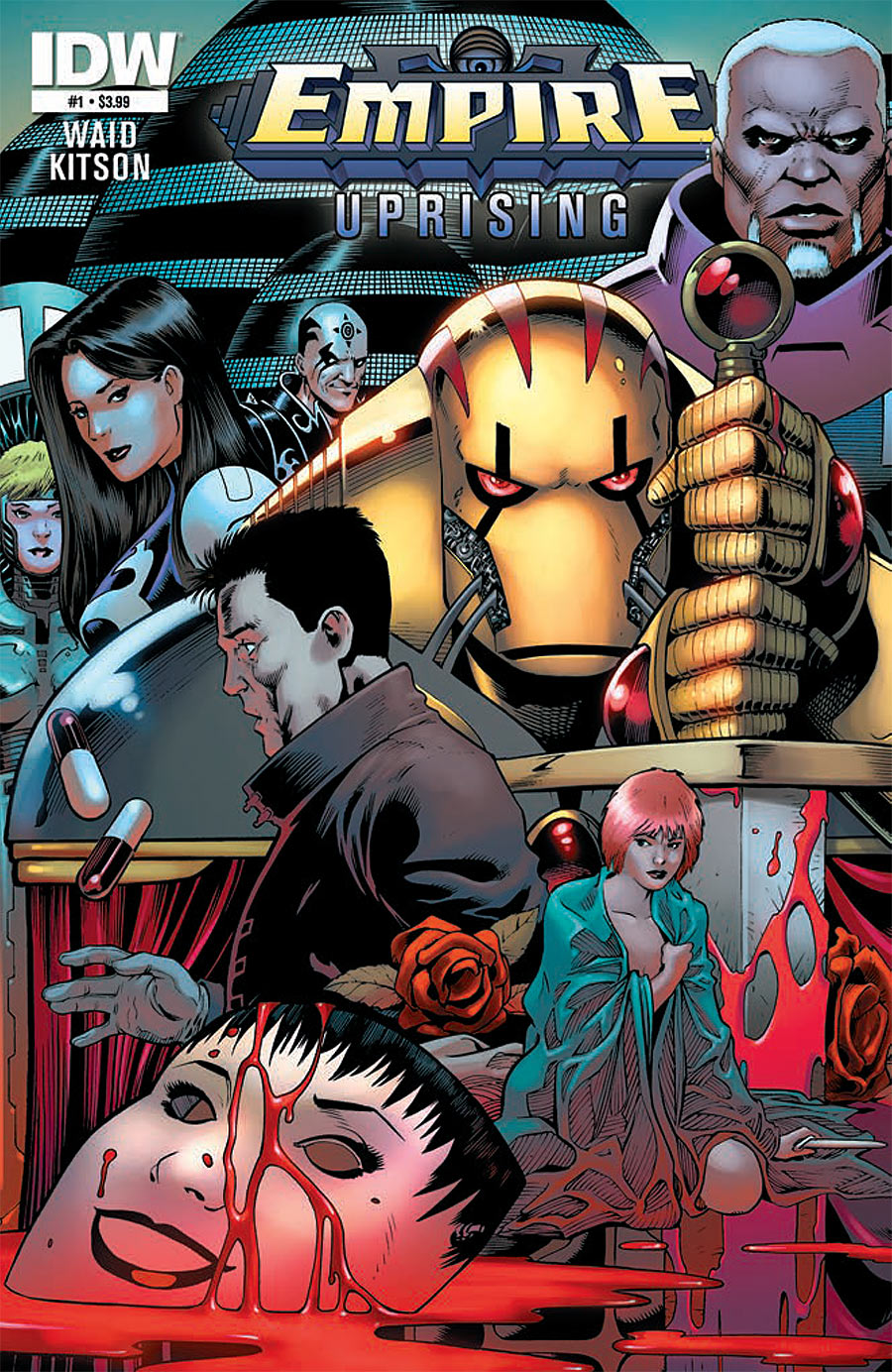 Empire Uprising Cover featuring Golgoth by Mark Waid and Barry Kitson