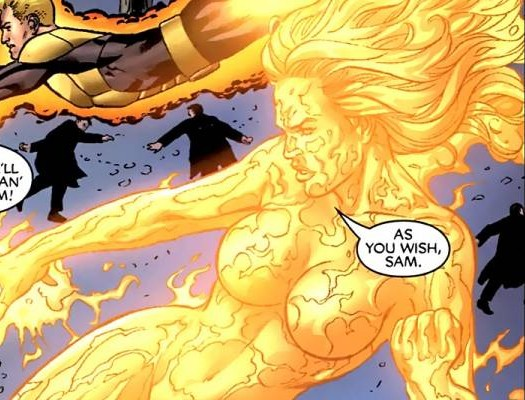 Magma in New Mutants Forever #1