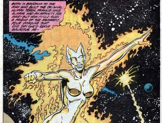 Nova aka Frankie Raye, Herald of Galactus