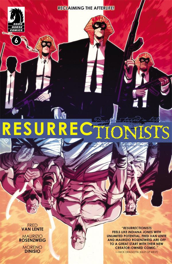 Resurrectionists #6 Fred Van Lente Maurizio Rosenzweig Moreno Diniso Dark Horse Comics