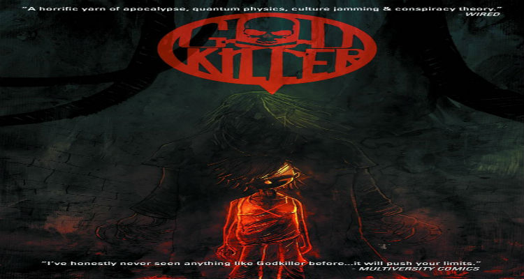 Godkiller Volume 1 Cover by Ben Templesmith