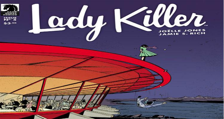 Lady Killer #5 Dark Horse Comics Joelle Jones Jamie S. Rich