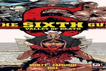 The Sixth Gun Valley of Death #1 cover Brian Hurtt A.C. Zamudio