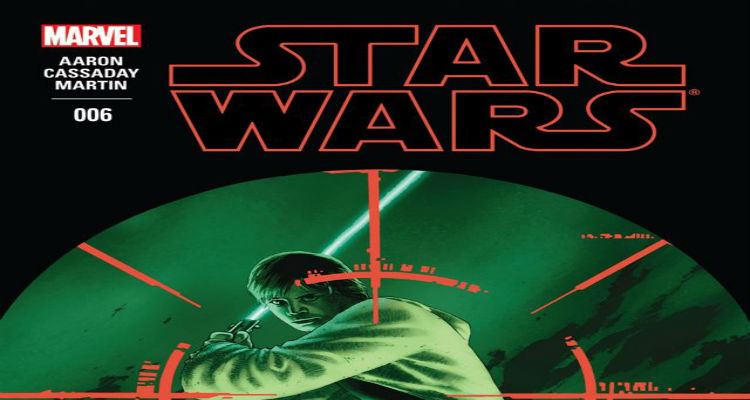 Marvel Star Wars 6 Cover Luke Skywalker Sana Solo Issue Reveal