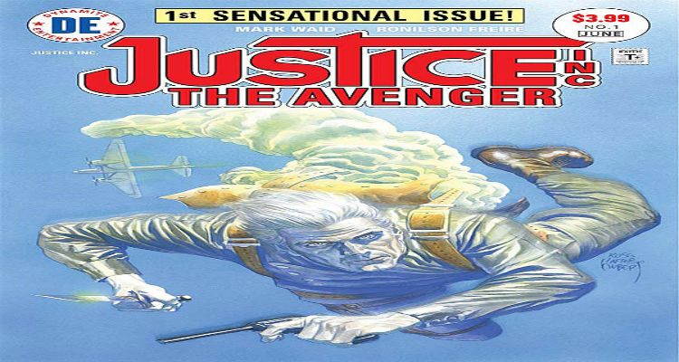 Justice Inc. The Avenger #1 Dynamite Comics Mark Waid