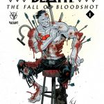 Book of Death The Fall of Bloodshot Variant Cover