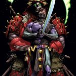 Book of Death Fall of Ninjak Cover by Mann