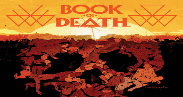 Book of Death #1 Cover B by Nord
