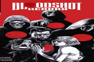 Mico Suayan's Bloodshot Reborn #6 Cover