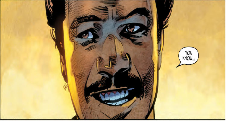 Marvel's Lando #1 by Charles Soule and Alex Maleev