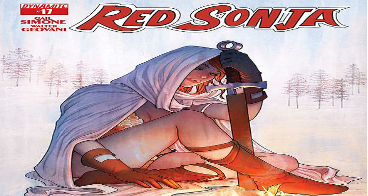 Red Sonja #17 Cover
