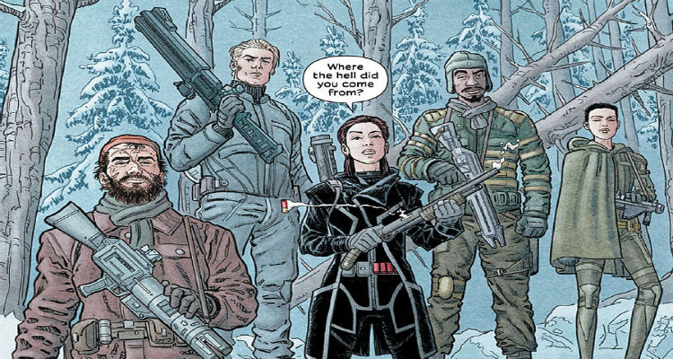 Image Comics' We Stand On Guard by Brian K Vaughan