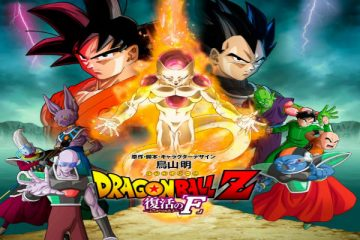Dragon Ball Z Resurrection 'F' Movie Poster