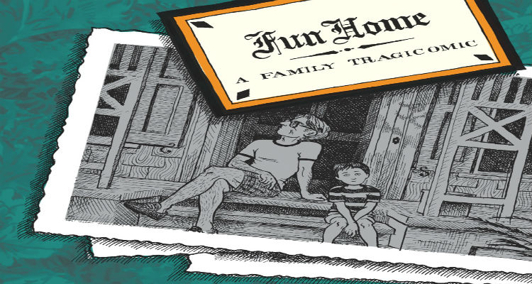 Fun Home Cover by Alison Bechdel