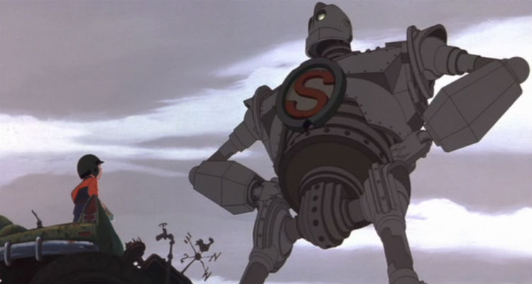 The Iron Giant is Superman