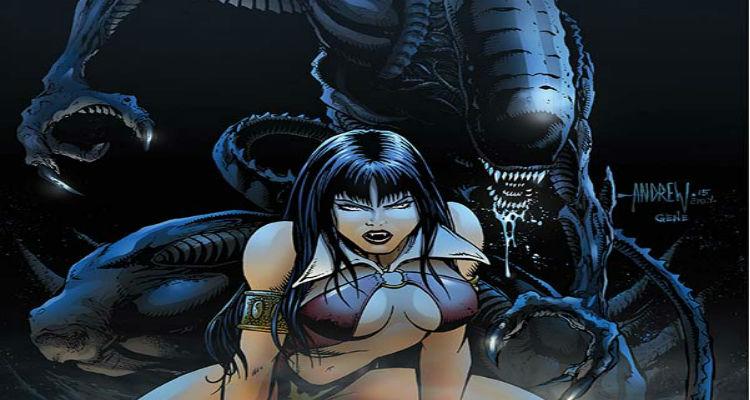 Aliens / Vampirella NYCC Exclusive Cover