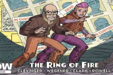 Atomic Robo: The Ring of Fire Cover