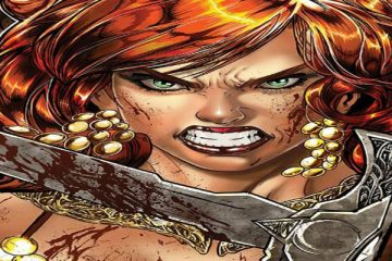 Red Sonja 18 Variant Cover by Melo
