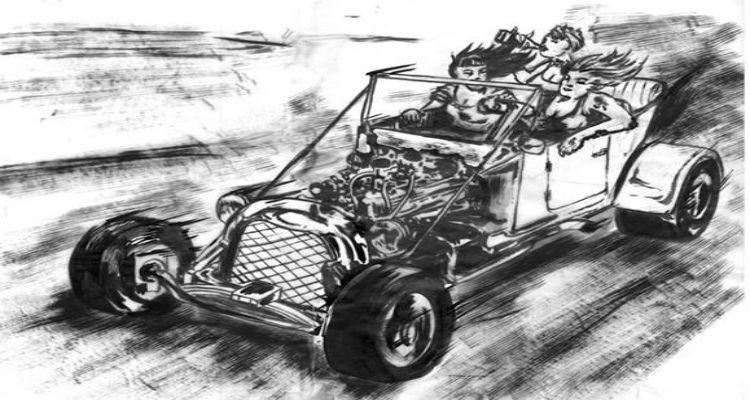 The Showdown Model Model T Roadster