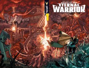 Wrath of the Eternal Warrior Cover A by David Lafuente