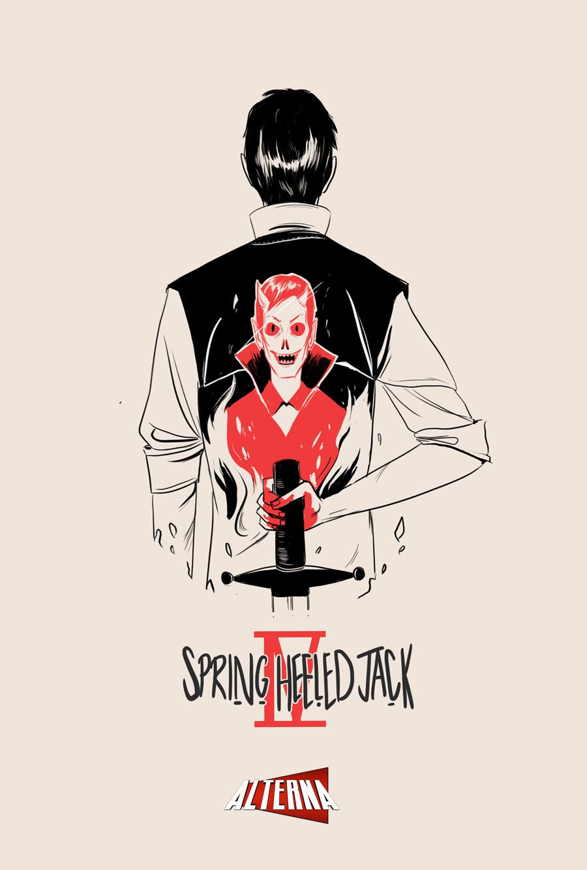 Spring-Heeled Jack #4 Cover