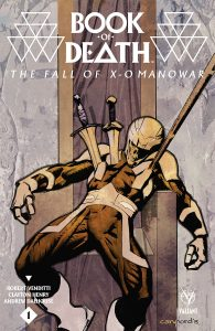 Book of Death: The Fall of X-O Manowar Cover