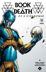 Book of Death: The Fall of X-O Manowar Variant Cover