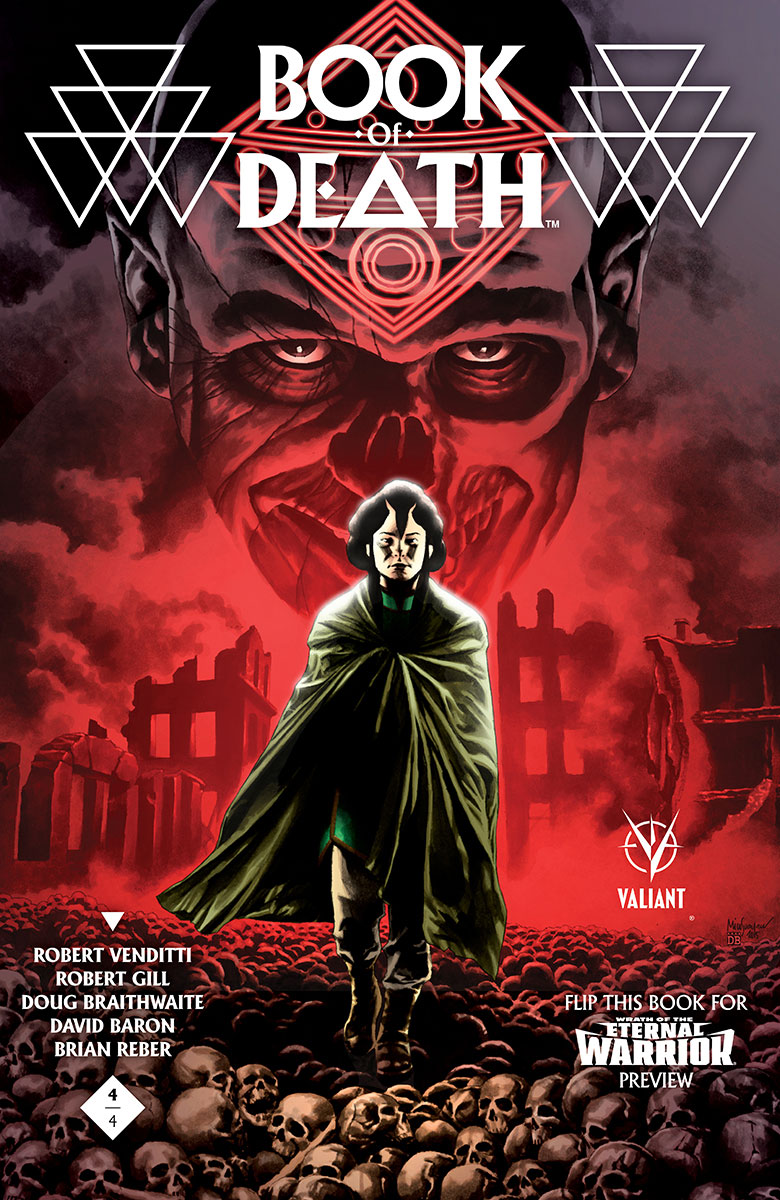 Book of Death #4 Variant Cover by Mico Suayan