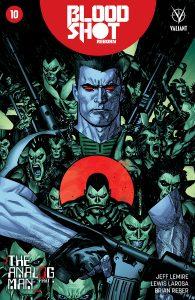 Bloodshot Reborn #10 Variant Cover by Ryan Sook