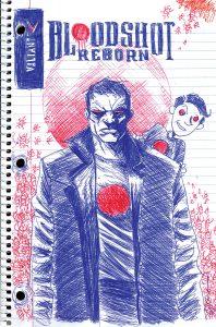 Bloodshot Reborn #10 Variant Cover