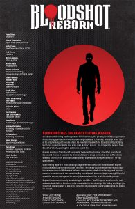 Bloodshot Reborn #7 Preview Page
