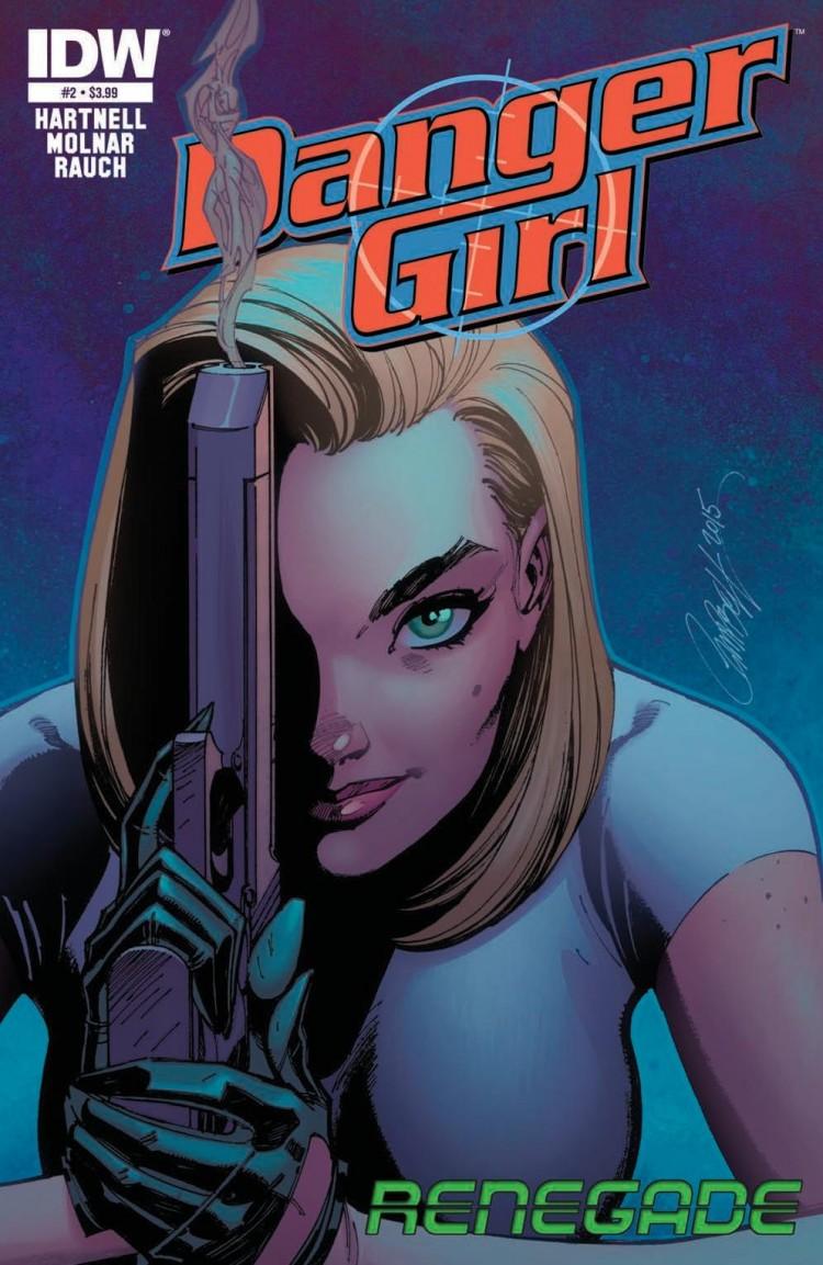 Danger Girl: Renegade #2 Cover