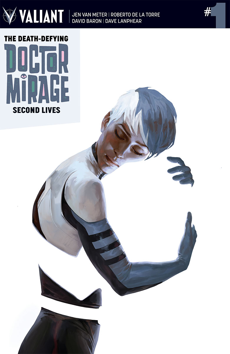 The Death Defying Dr. Mirage: Second Lives #1 Cover