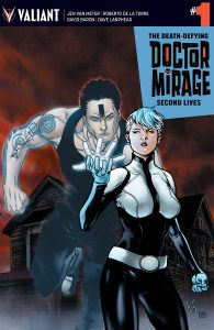 The Death Defying Dr. Mirage: Second Lives #1 Variant Cover