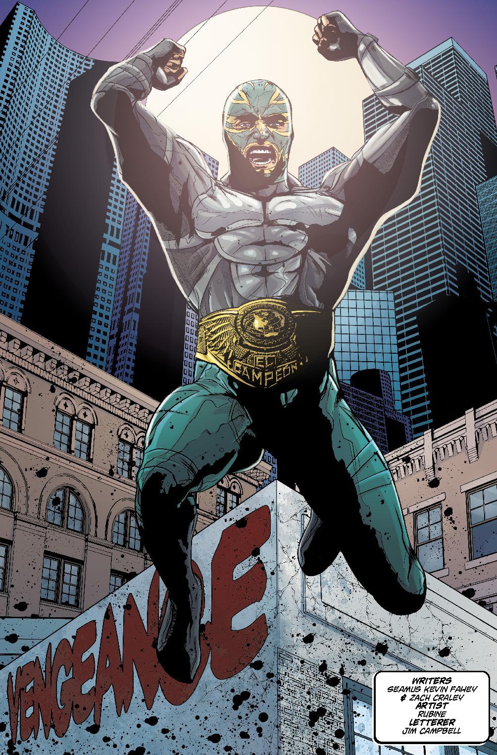Heroes Vengeance #1
