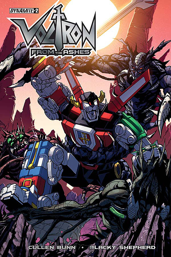 Voltron from the Ashes #2 Cover