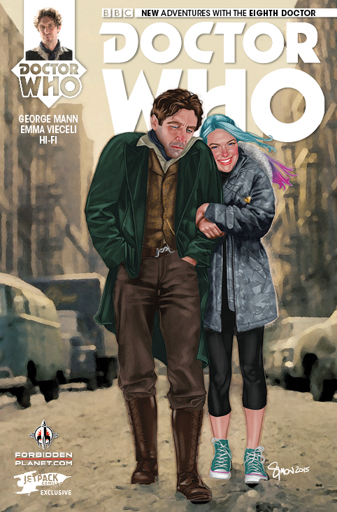 Doctor Who: The Eighth Doctor #1 Bob Dylan Variant Cover