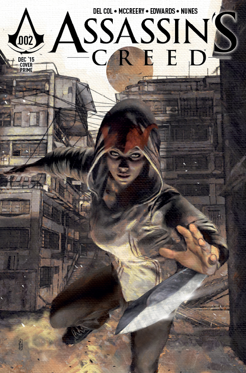 Assassin's Creed #2 Cover