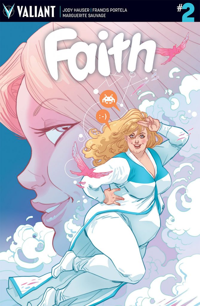 Faith #2 Cover