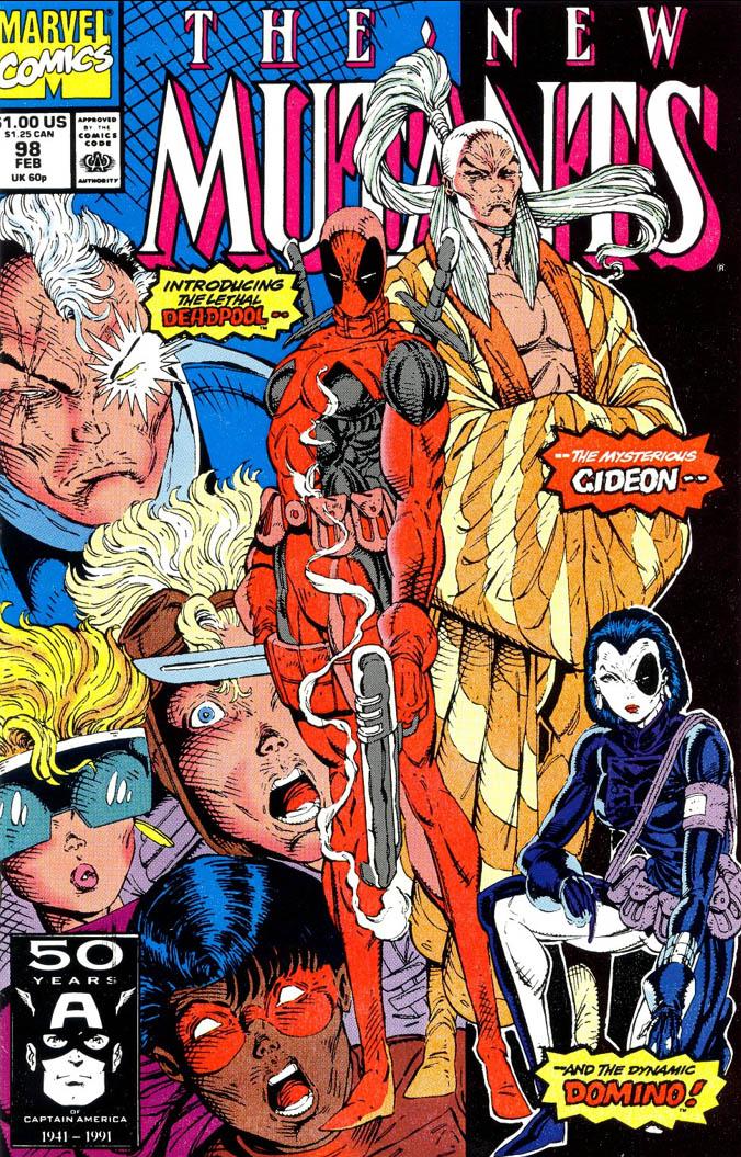 New Mutants 98 Cover
