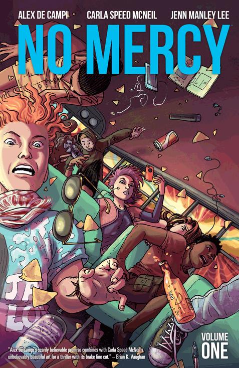 No Mercy, Vol. 1 Cover