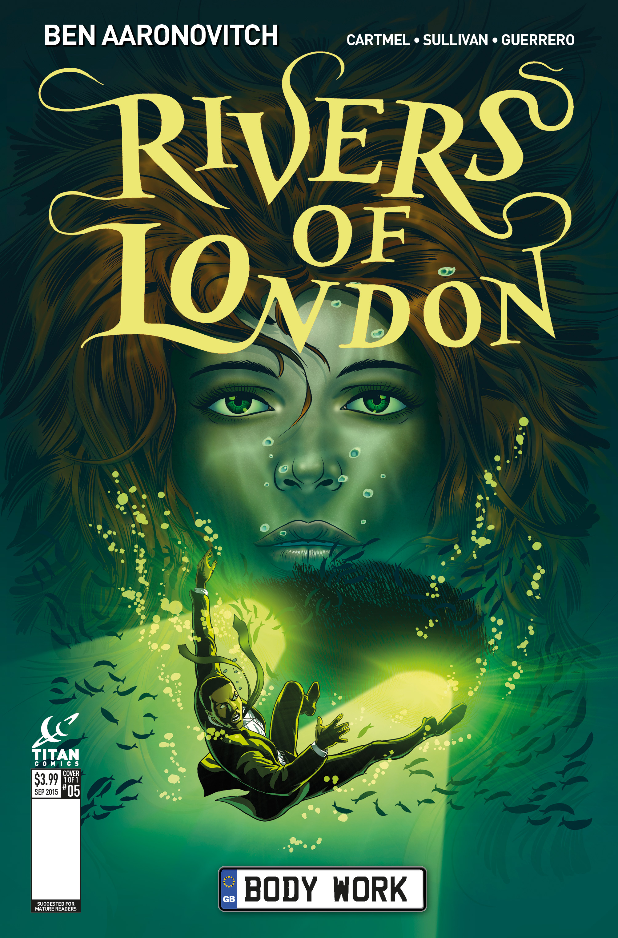 Rivers of London #5 Cover