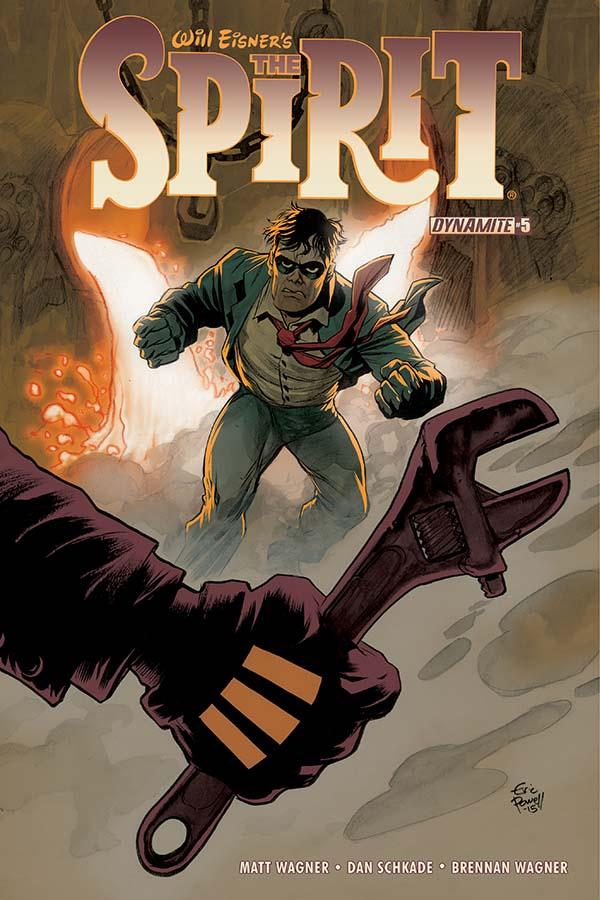Will Eisner's The Spirit #5 Cover