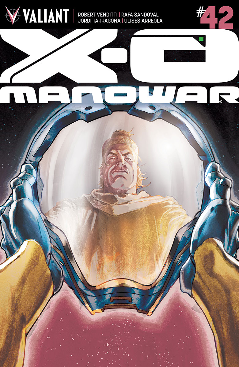 X-O Manowar #42 Cover