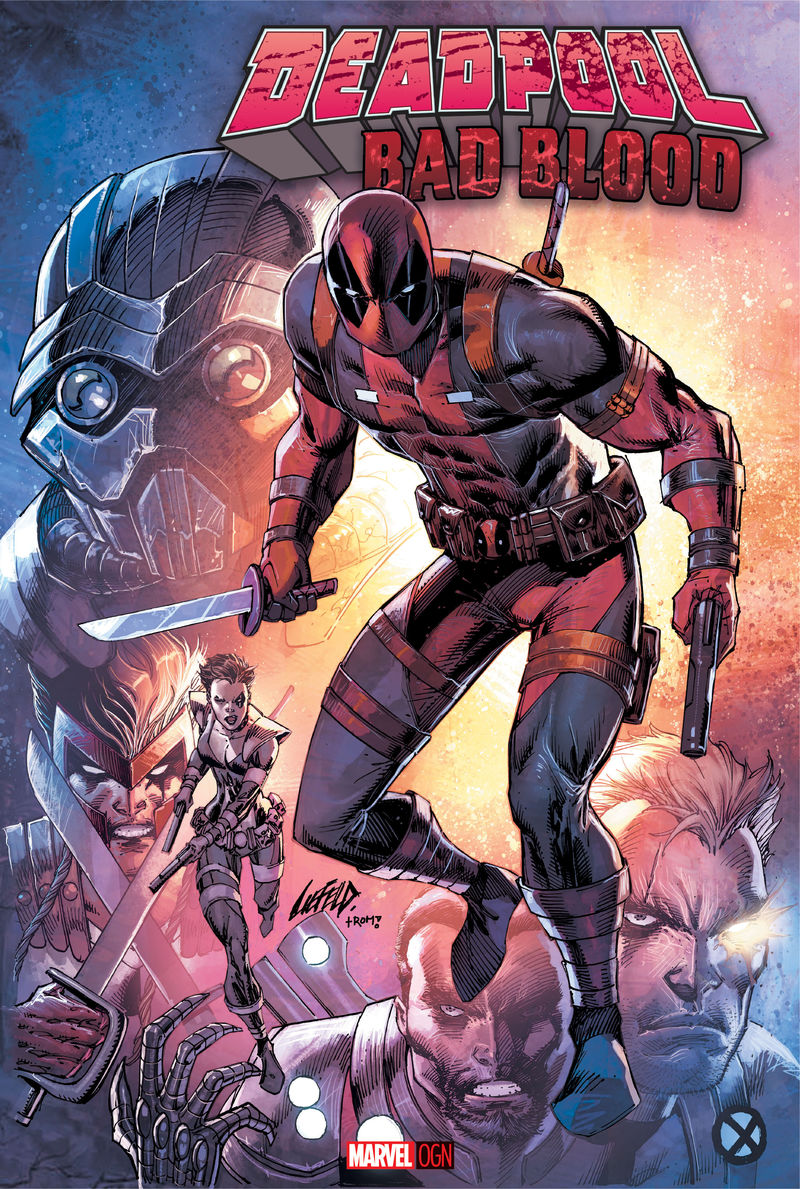 Deadpool: Bad Blood Cover