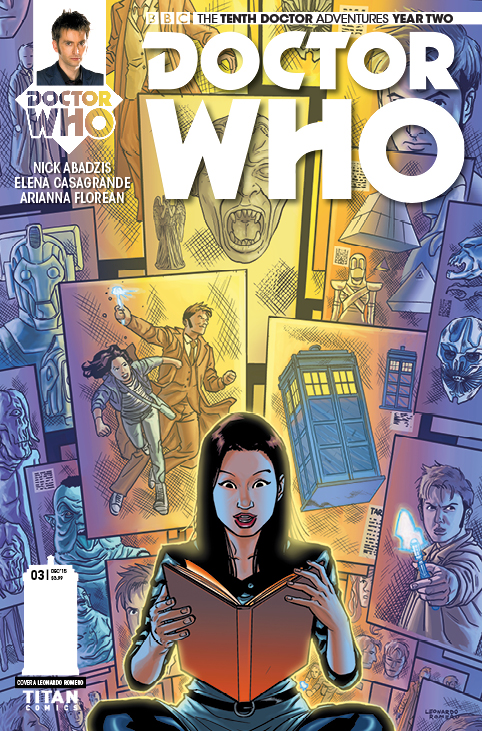 Doctor Who: The Tenth Doctor #2.3 Cover